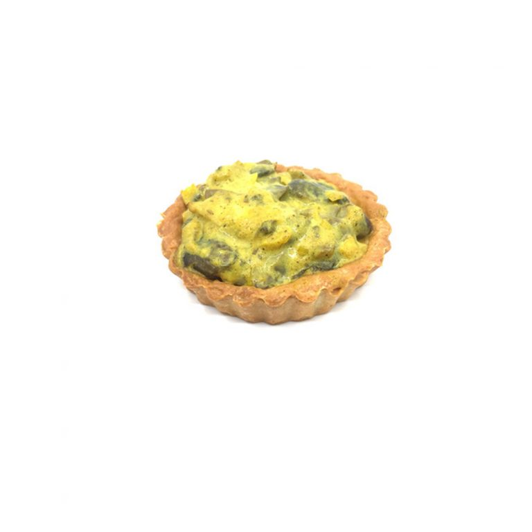 Miniquiches de Cogumelos e Alho-Francês