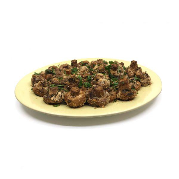 Cogumelos Crocantes