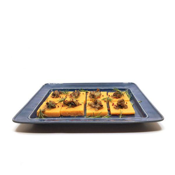 Polenta c/ Ragout de Cogumelos